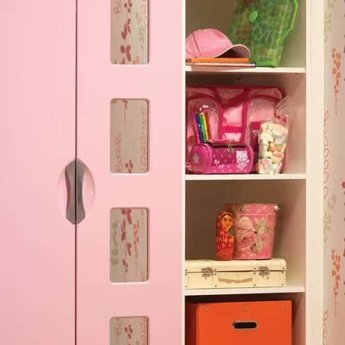 Children S Fitted Bedrooms Pink Gloss Madrid Starplan