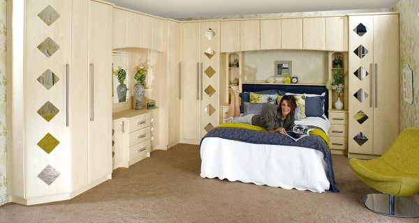 Maple Fitted Bedrooms Stoke