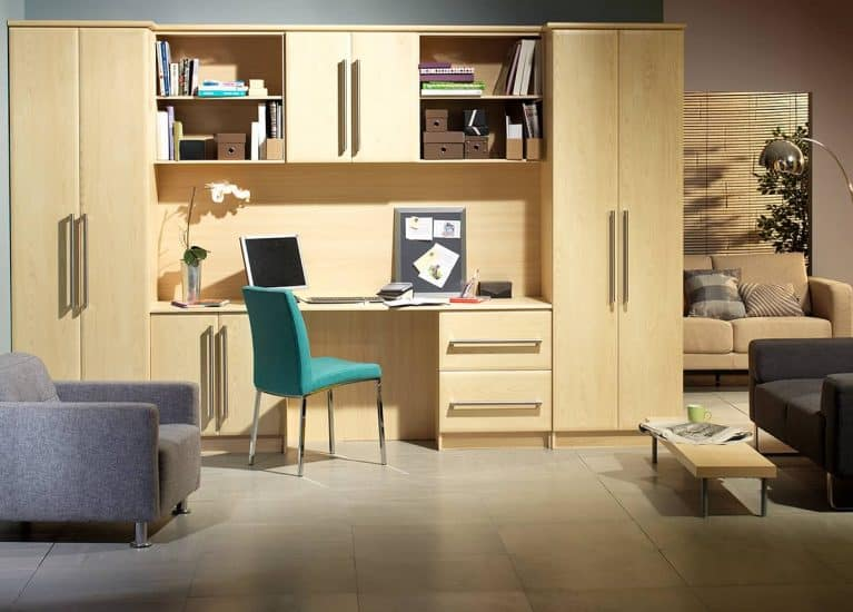 Fitted Office - Fitted Bedrooms