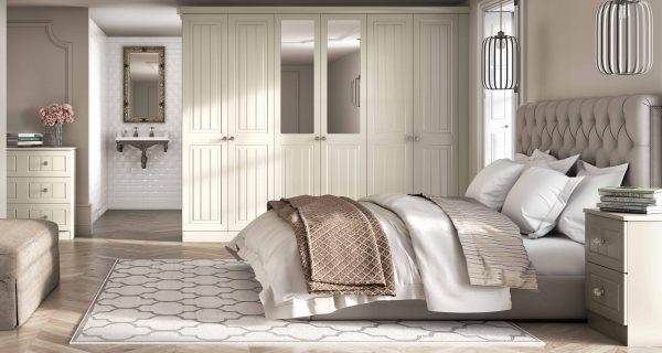 Classic White Fitted Bedrooms Stoke