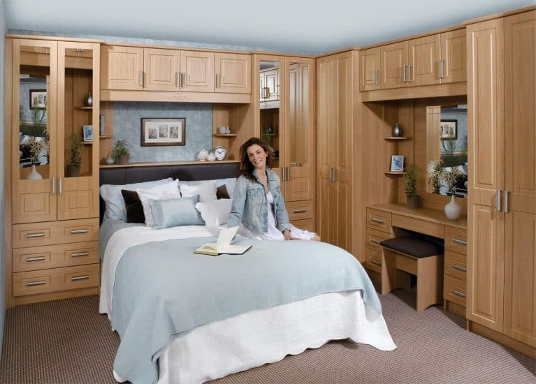 Traditional Fitted Bedrooms American Cherry Lisbon Starplan