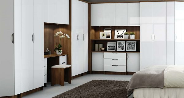 High Gloss Fitted Bedrooms Bolton