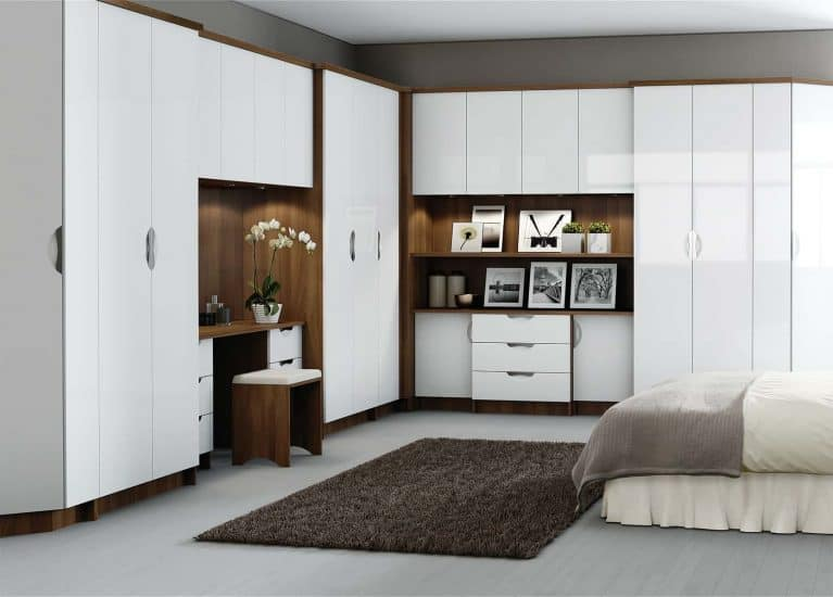 Modern Fitted Bedrooms High Gloss Madrid Starplan