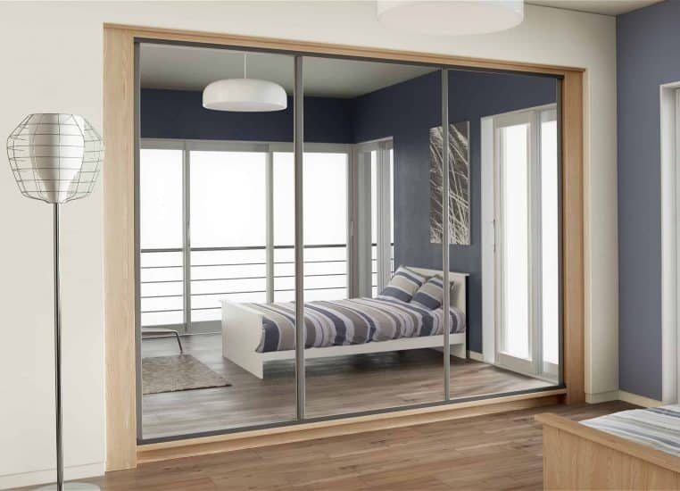 Sliding Wardrobes | Bedroom Furniture | Full Mirror | Starplan