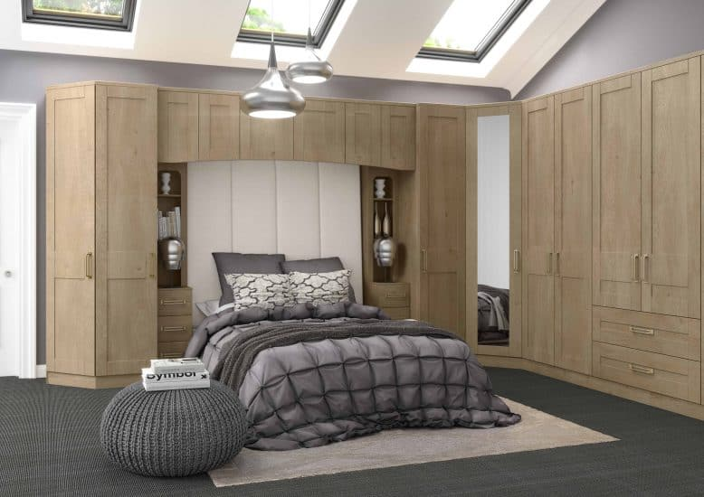 Oak Fitted Bedrooms Stoke