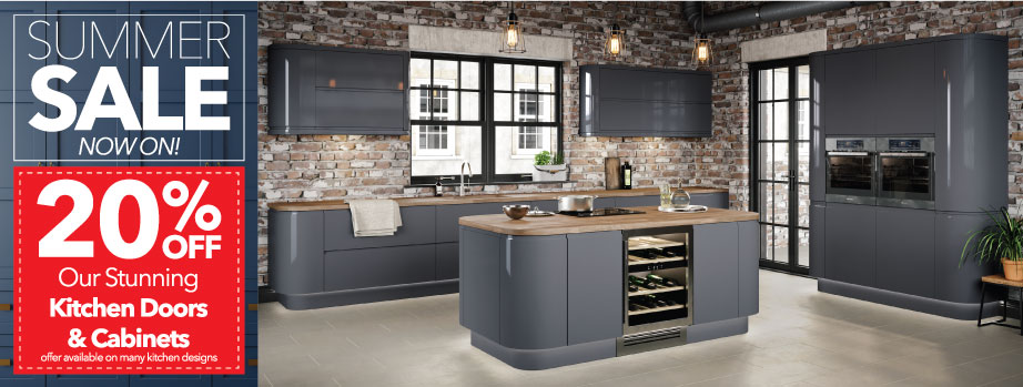 50% off plus an extra 10% off signature kitchens