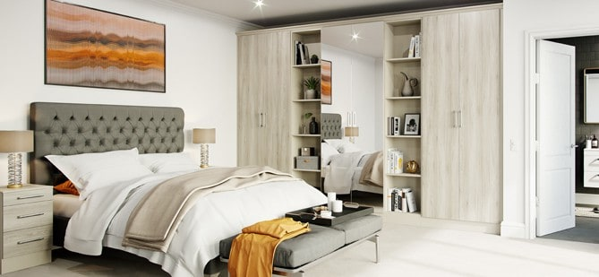 How to style your bedroom for summer.