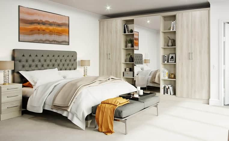 Fitted bedrooms England – what are the benefits of having fitted wardrobes?