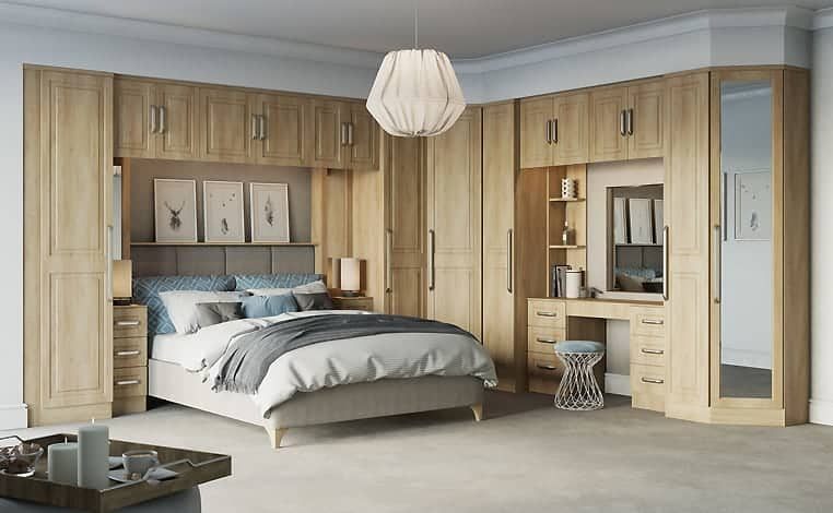 American Cherry Lisbon Design Fitted Bedroom