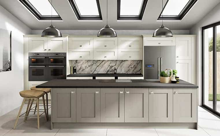 Porcelain & Stone Grain Kitchen