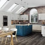 Light Grey & Marine Kitchen