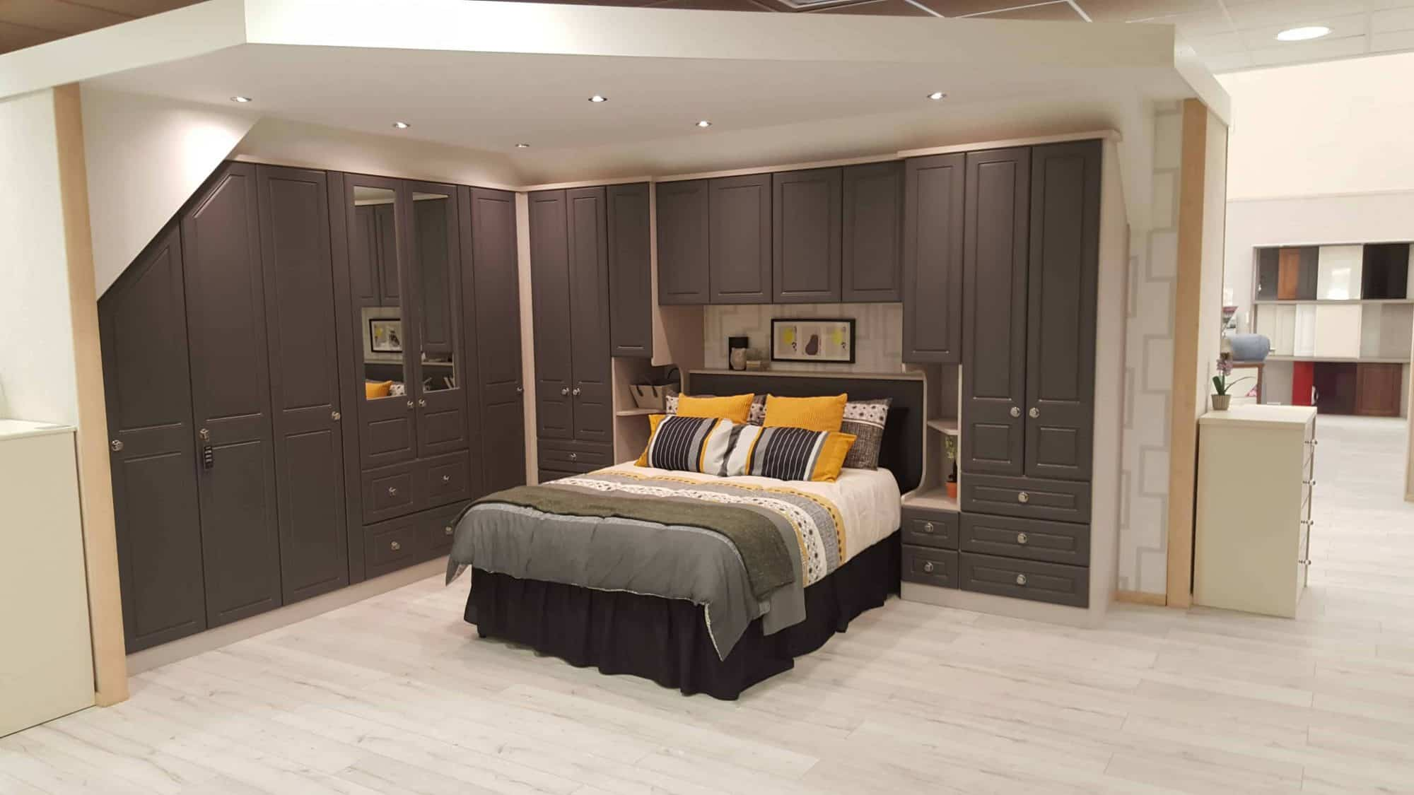 Add those finishing touches to make a fitted bedroom yours!