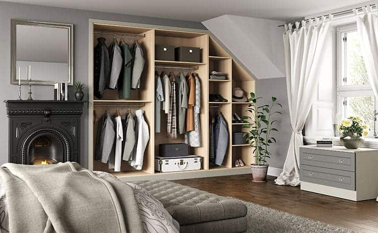 Graphite-Grain-&-Cashmere-Sloped-Fitted-Bedroom-Storage
