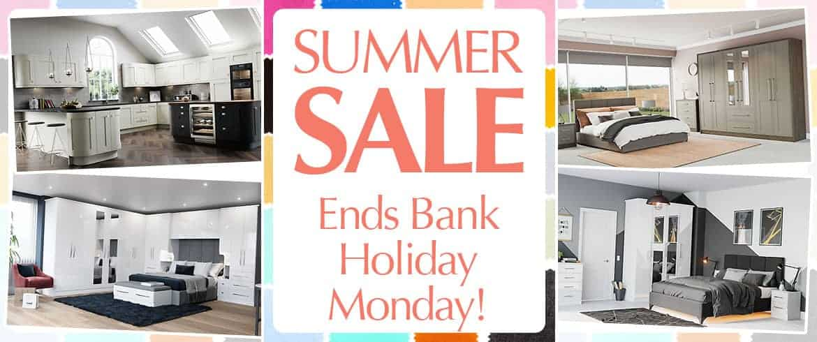 Summer Sale Ends Bank Holiday Monday