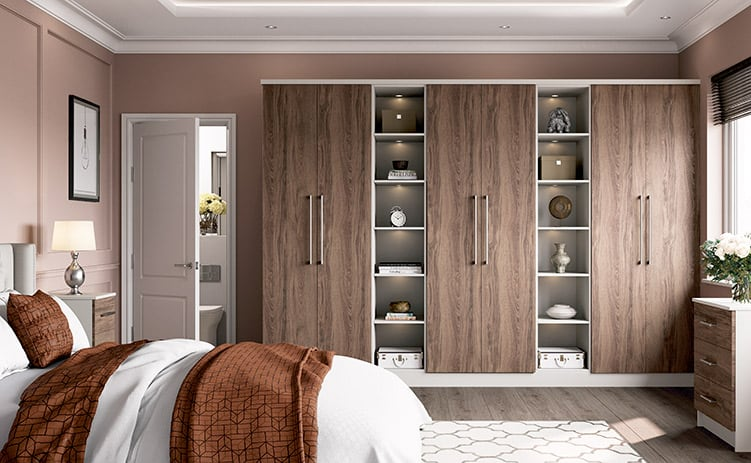Chestnut Cashmere Fitted Bedroom