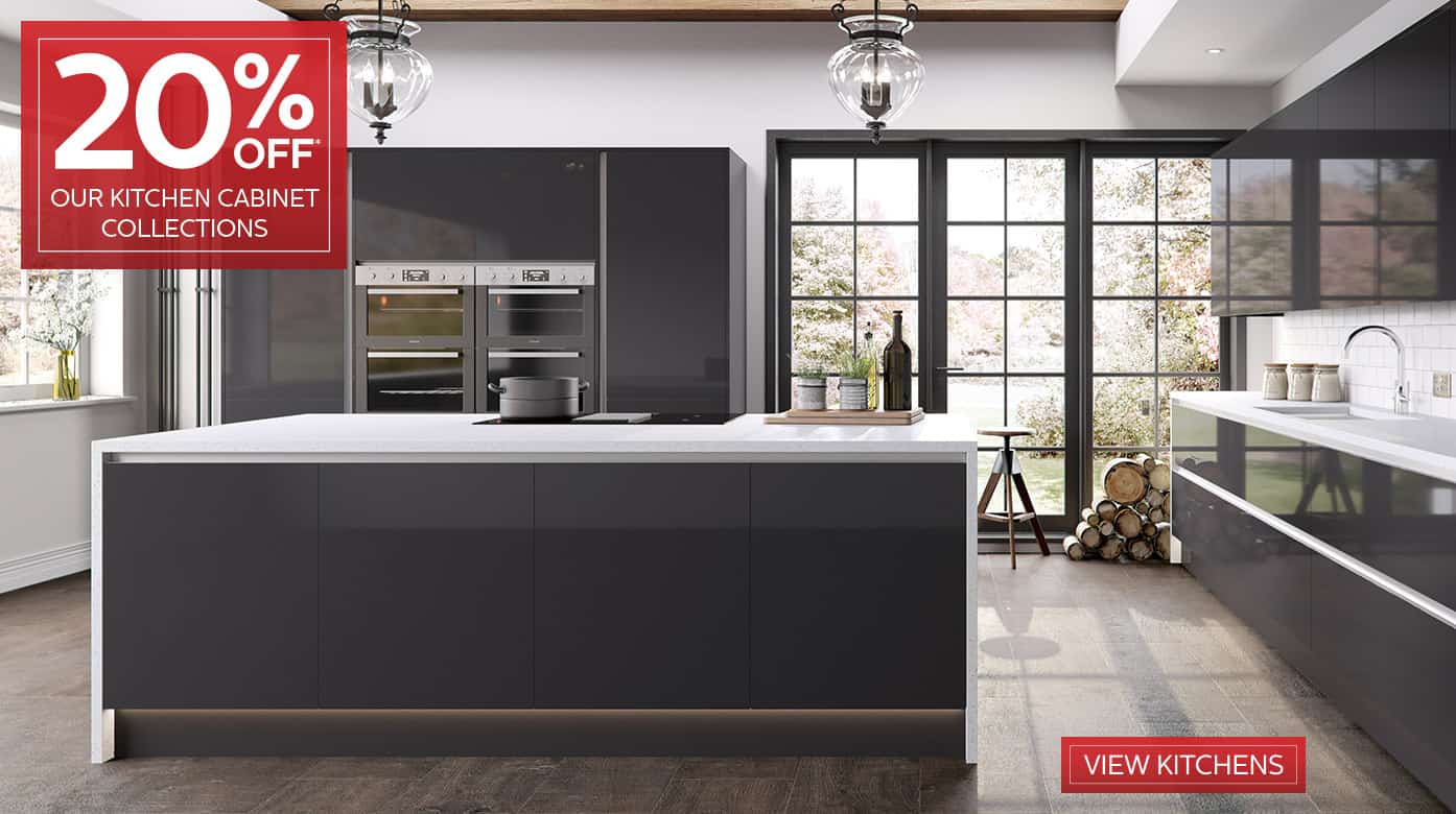 20% Off Our Kitchen Doors & Cabinets