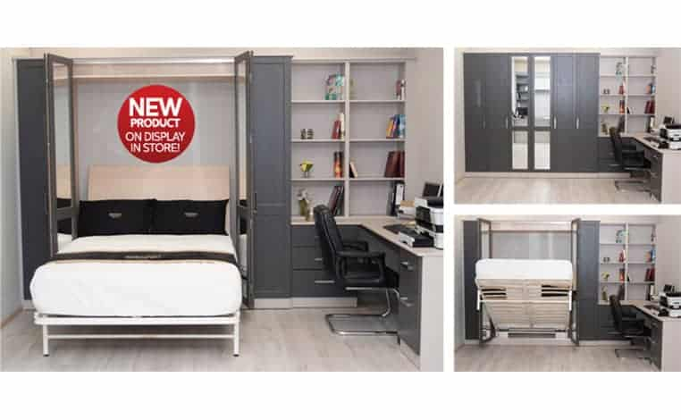 Stylish storage for small fitted bedrooms!