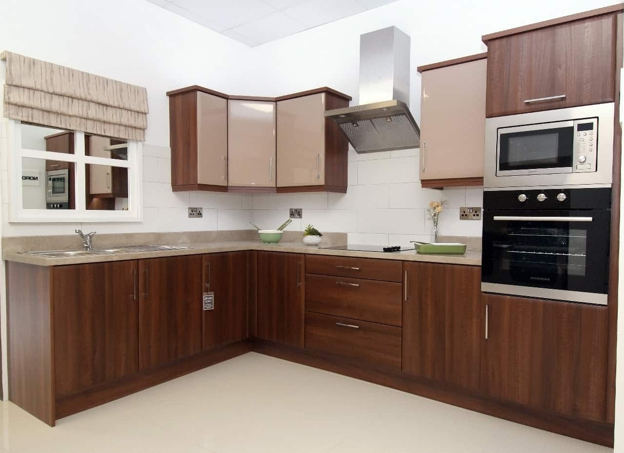 How to make your small fitted kitchen seem larger