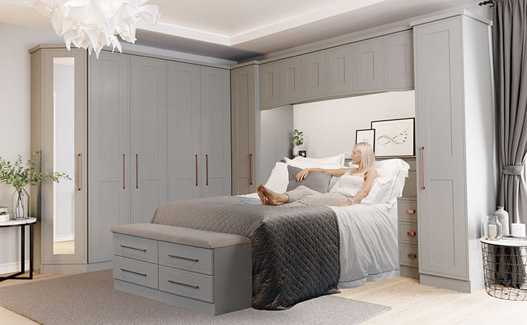 Dust Grey Fitted Bedroom
