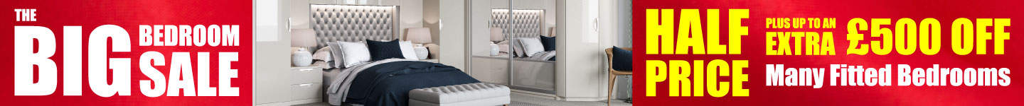 Half Price Fitted Bedrooms Plus Up To An Extra £500 Off